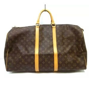 🍒authentic Louis Vuitton keepall 55 travel bag
